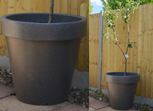 High Quality The Classic Extra Larger Planter In Millstone Grit