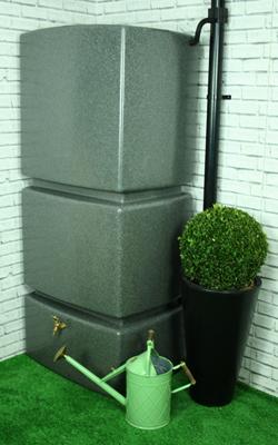 Fantastisch Tank 800 Liter Ecosure Wassertank Fass Regenwasser Wasserentnahme  WH08