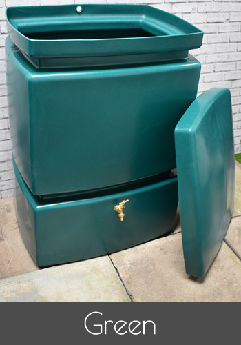 525 litre water butts available in multiple colours. Black Bedroom Furniture Sets. Home Design Ideas
