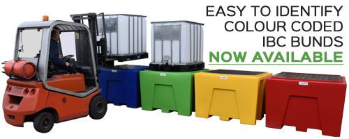 IBC Pallets in plastic and steel  IBC bunds suitable for