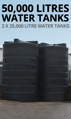 50,000 Litre Water Tanks